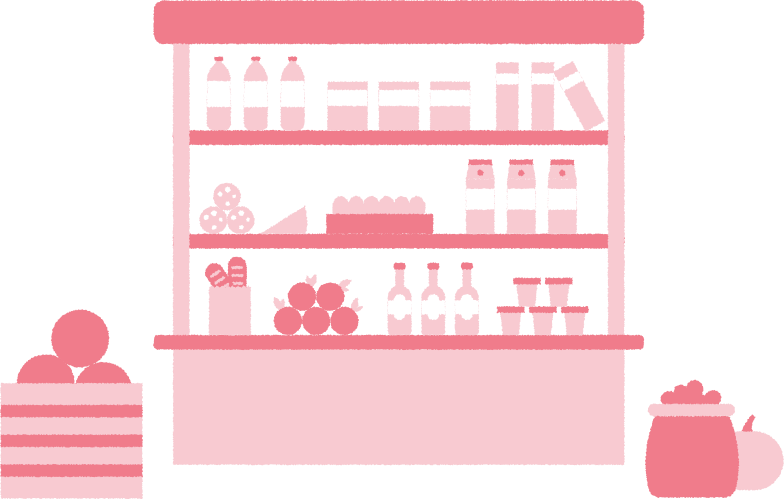 groccery shop Clipart illustration in PNG, SVG