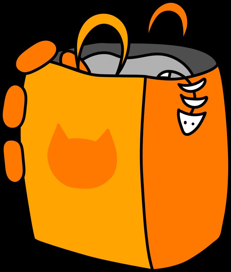 Immagine Vettoriale pacchetto con acquisti in PNG e SVG in stile  | Illustrazioni Icons8
