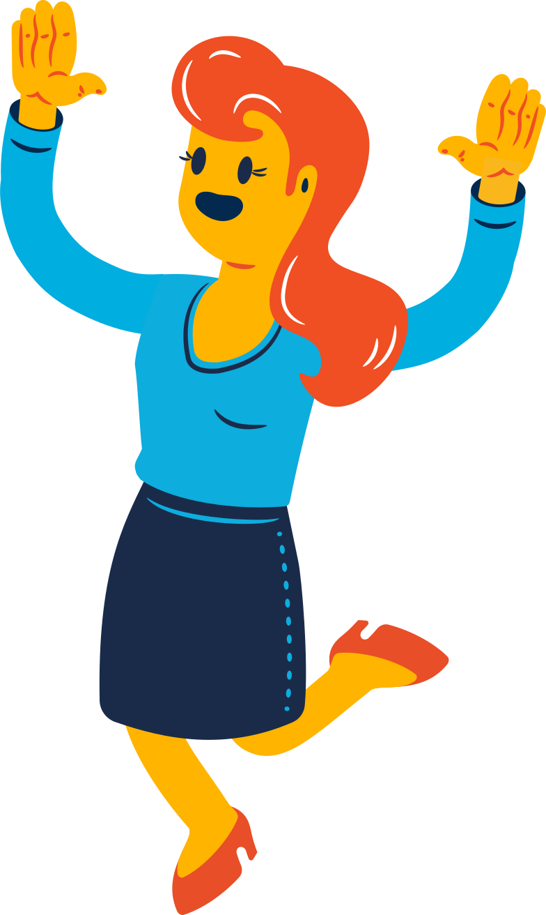 style joyful woman Vector images in PNG and SVG | Icons8 Illustrations