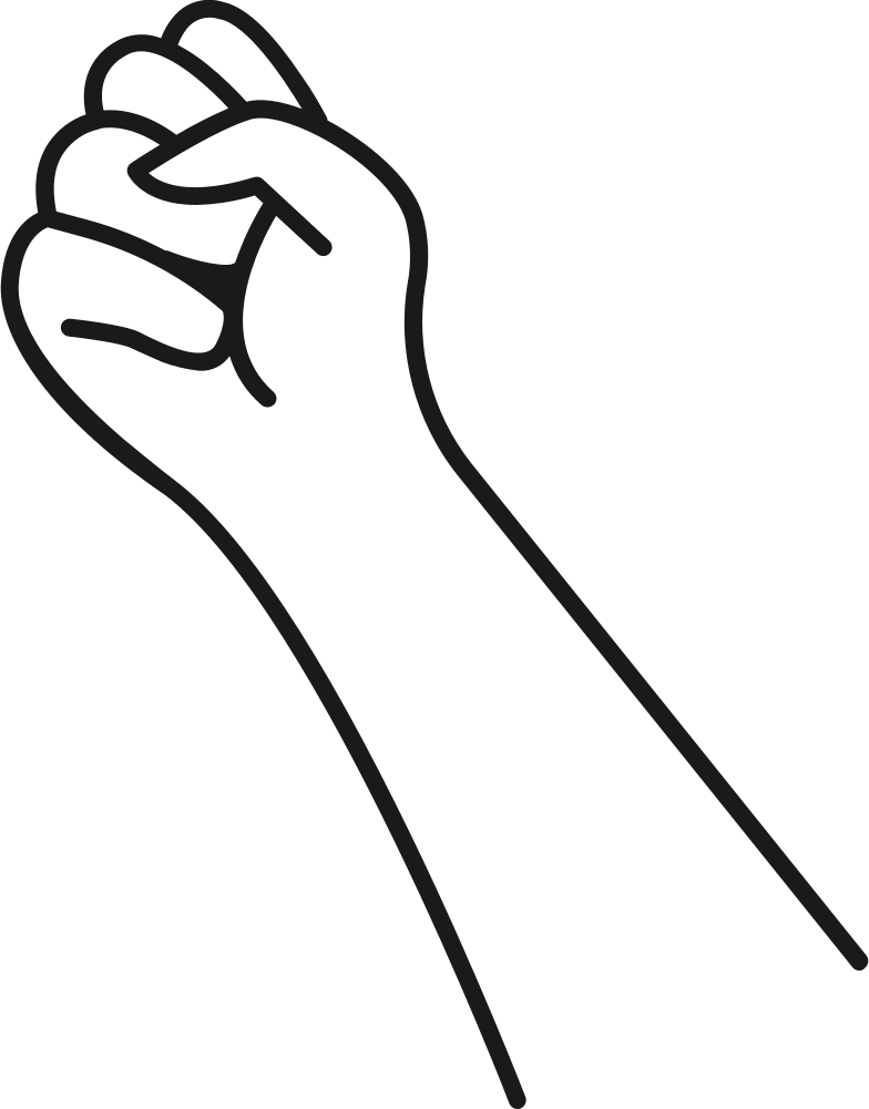 hand fist Clipart illustration in PNG, SVG