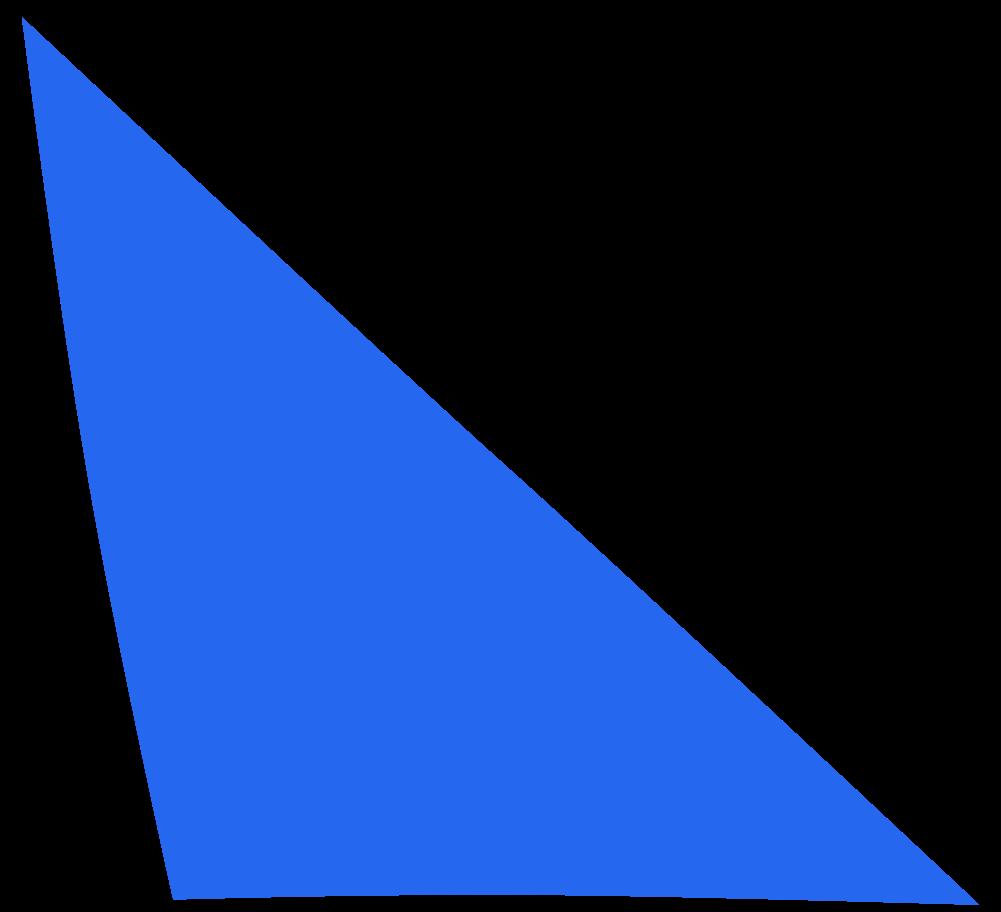 scalene blue Clipart illustration in PNG, SVG