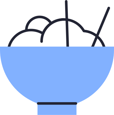 style rice bowl images in PNG and SVG | Icons8 Illustrations