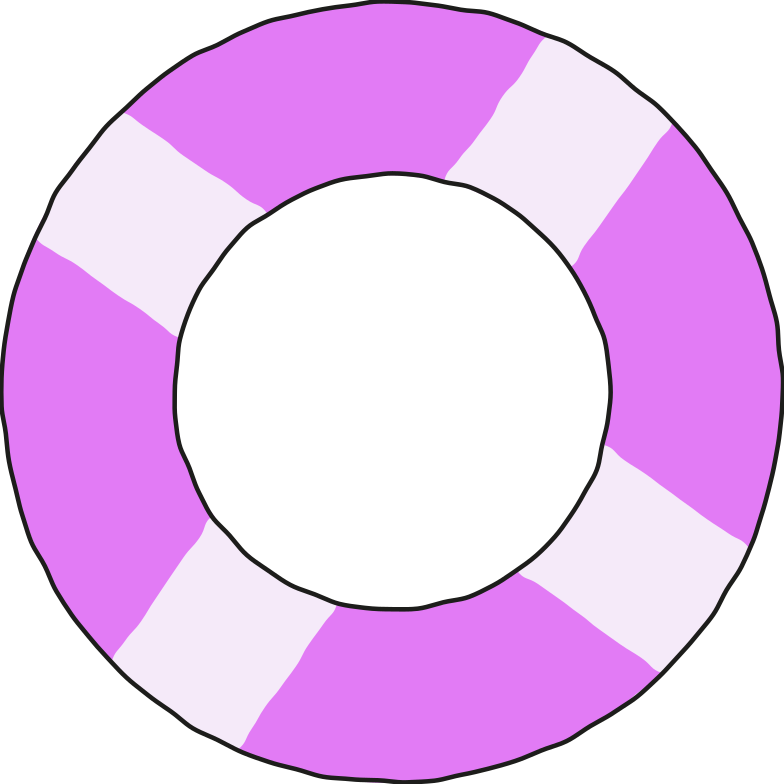 lifebuoy Clipart illustration in PNG, SVG