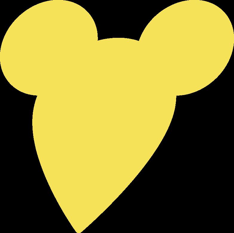 mouse silhoutte Clipart-Grafik als PNG, SVG