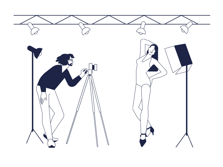 style Fashion Shooting Vector images in PNG and SVG | Icons8 Illustrations