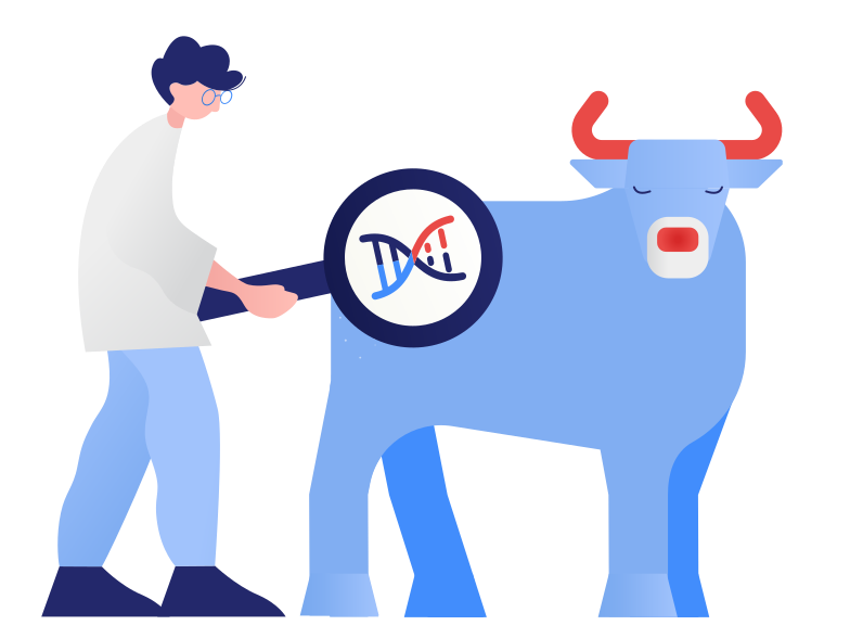 Research in genetic engeeniring Clipart illustration in PNG, SVG