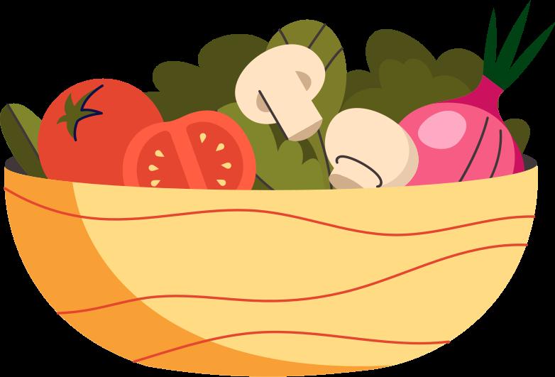 PNGとSVGの  スタイルの 野菜のプレート ベクターイメージ | Icons8 イラスト