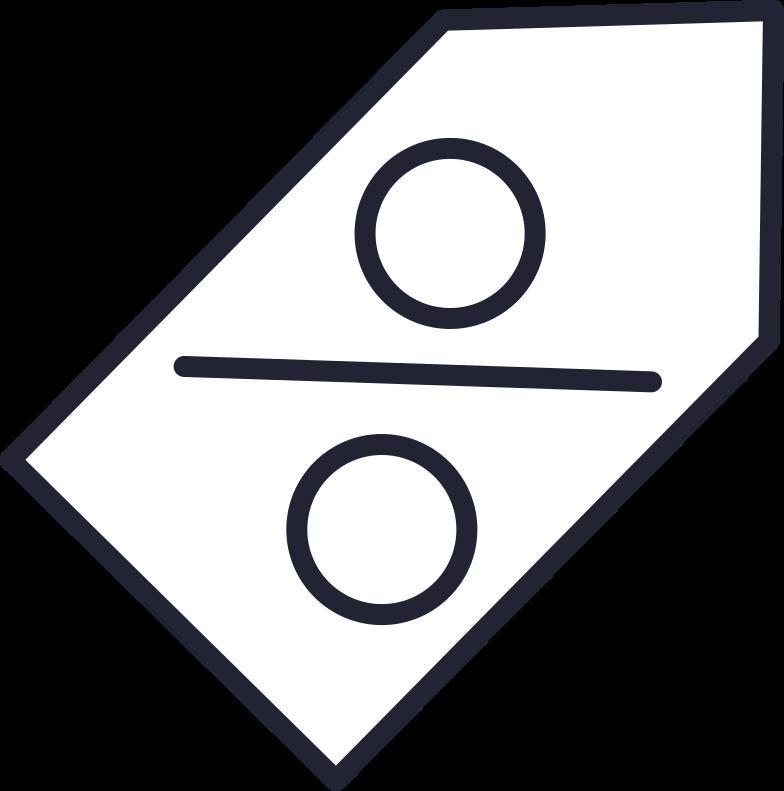 sale sign Clipart illustration in PNG, SVG
