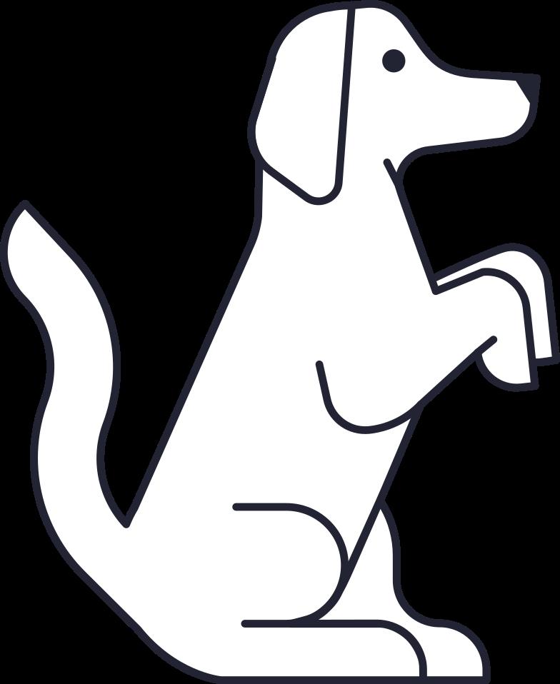 progress  dog Clipart illustration in PNG, SVG