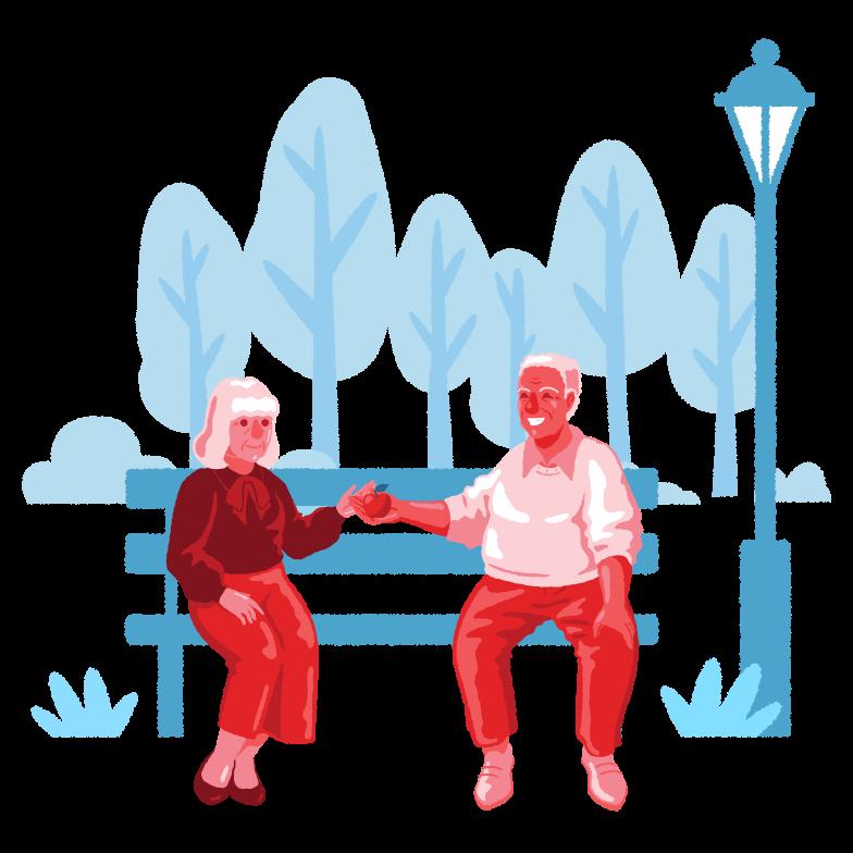 Relationship Clipart illustration in PNG, SVG