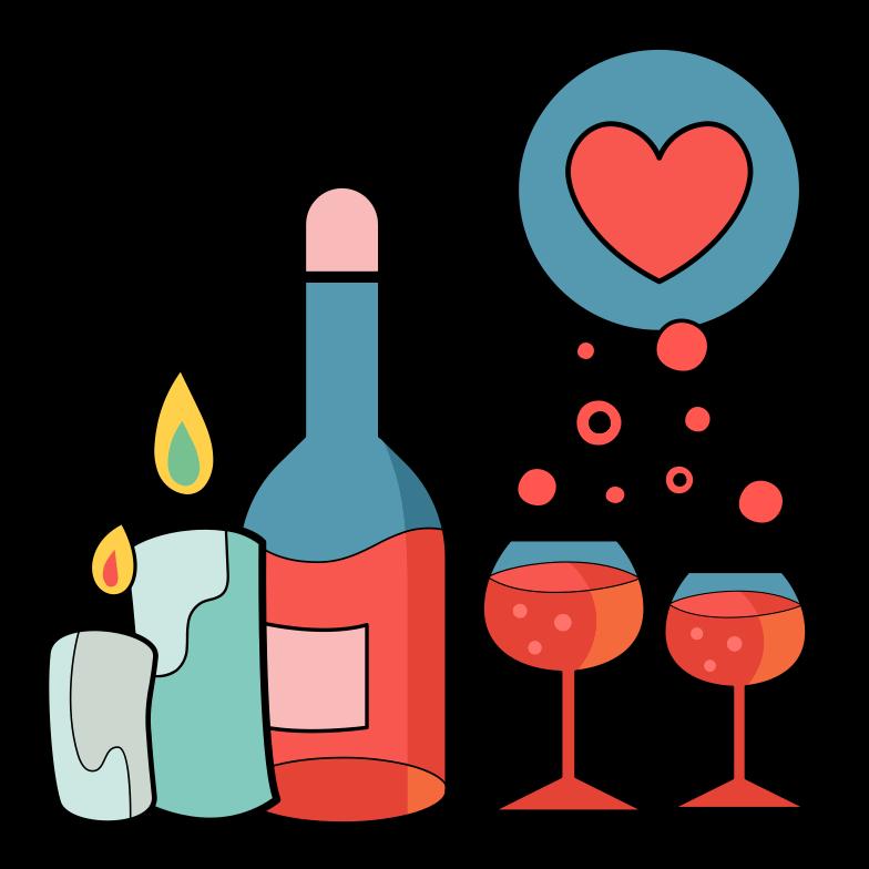 PNGとSVGの  スタイルの ロマンチックなデート ベクターイメージ | Icons8 イラスト
