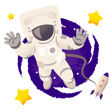 Astronaut Clipart Illustrations & Images in PNG and SVG