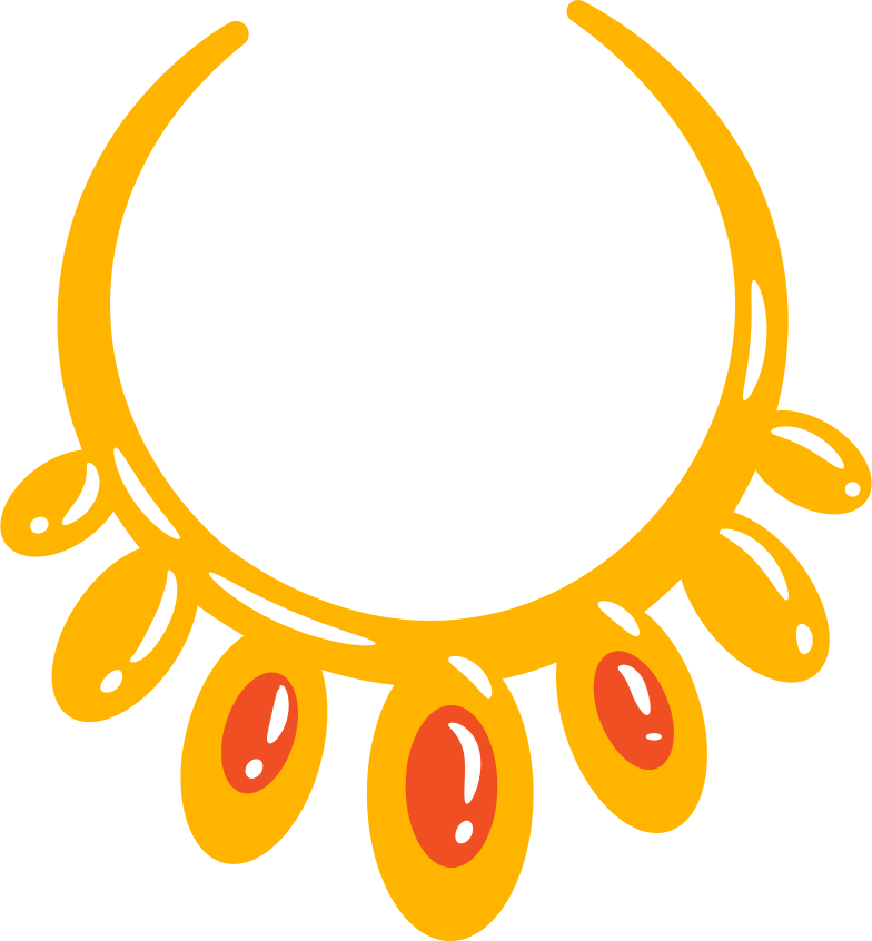 necklace Clipart illustration in PNG, SVG