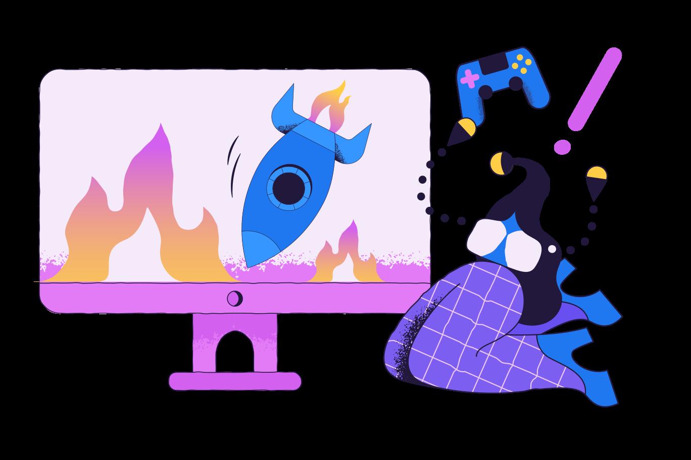 Video game Clipart illustration in PNG, SVG