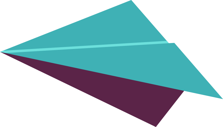 paper airplane Clipart illustration in PNG, SVG