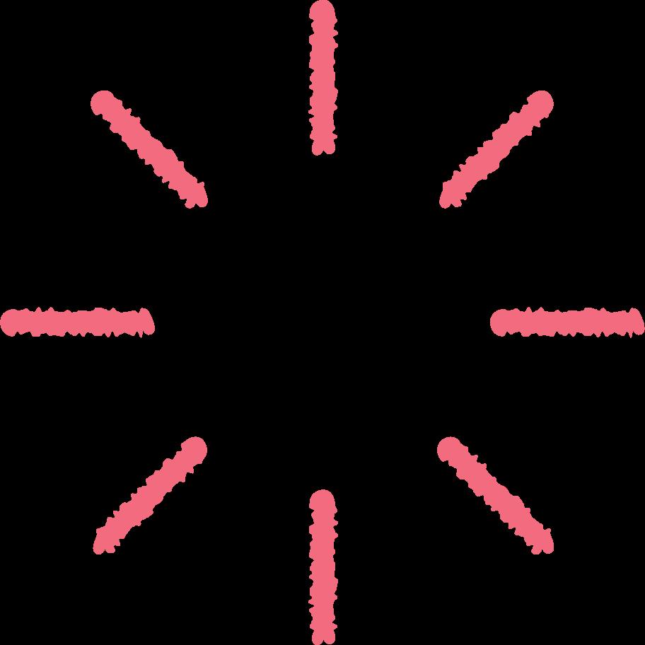 red spinner Clipart illustration in PNG, SVG