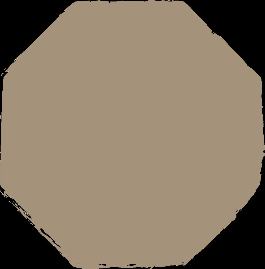 octagon-grey Clipart illustration in PNG, SVG