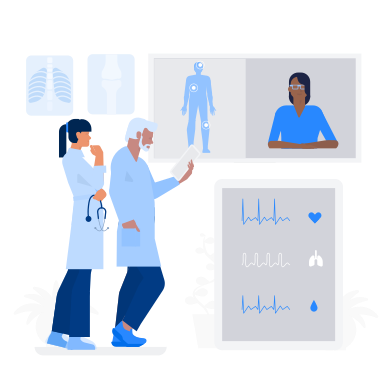 style Doctor Online images in PNG and SVG | Icons8 Illustrations