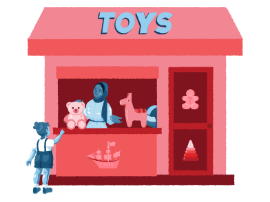 style Toys shop images in PNG and SVG | Icons8 Illustrations
