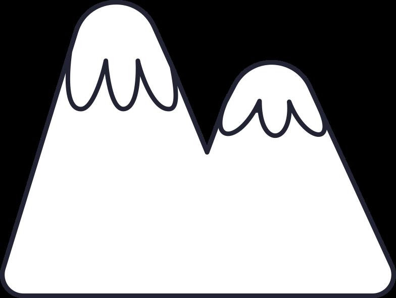 blogging  mountains Clipart illustration in PNG, SVG