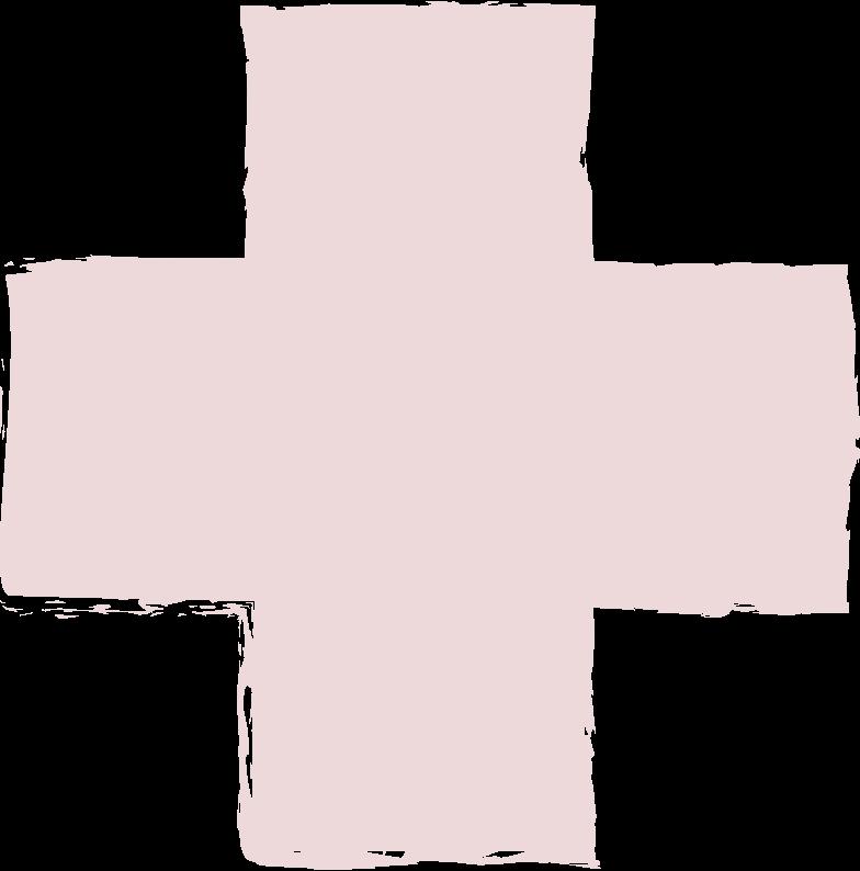 cross-pink Clipart illustration in PNG, SVG