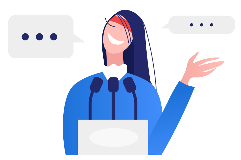style Public speech Vector images in PNG and SVG | Icons8 Illustrations