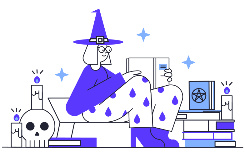 Magic training Clipart illustration in PNG, SVG