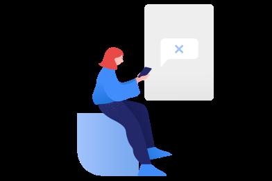 Иллюстрация без комментариев в стиле  в PNG и SVG | Icons8 Иллюстрации