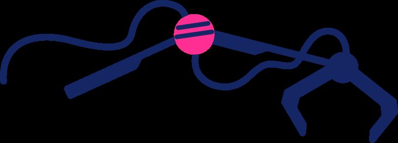 robot arm Clipart illustration in PNG, SVG