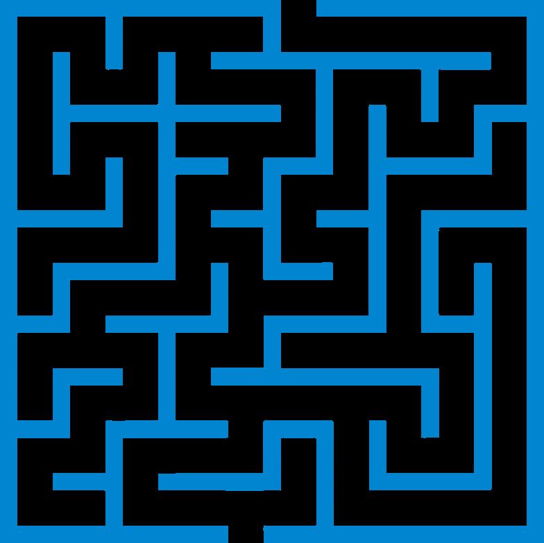 maze Clipart-Grafik als PNG, SVG