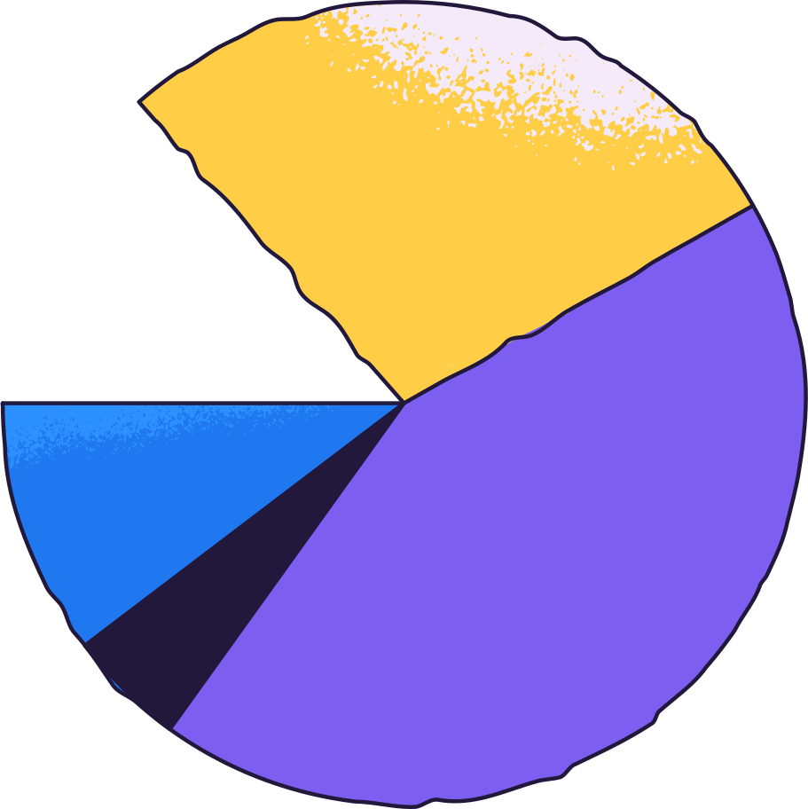 style pie chart Vector images in PNG and SVG | Icons8 Illustrations