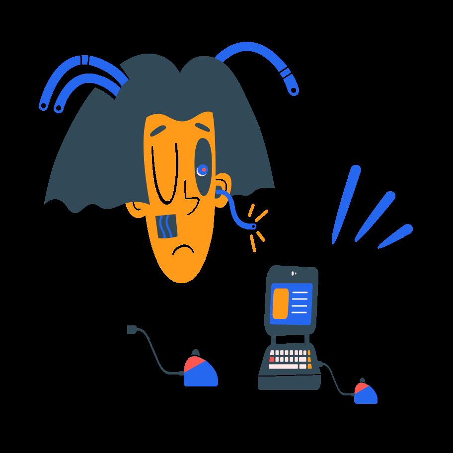 Imagens vetoriais de robô no estilo  em PNG e SVG | Ilustrações do Icons8
