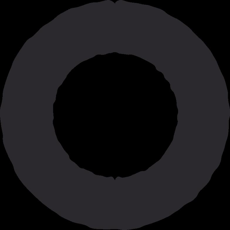 ring black Clipart illustration in PNG, SVG