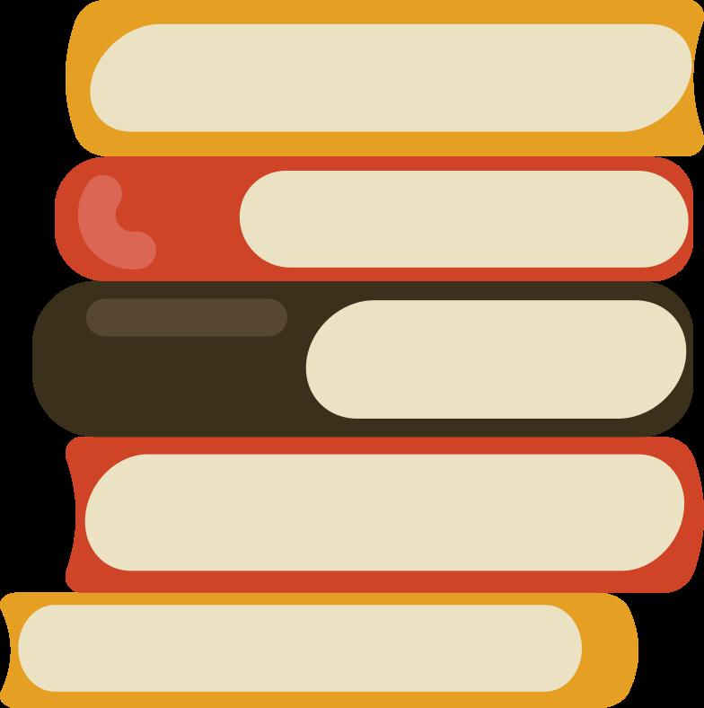 Imágenes vectoriales pila de libros en PNG y SVG estilo  | Ilustraciones Icons8