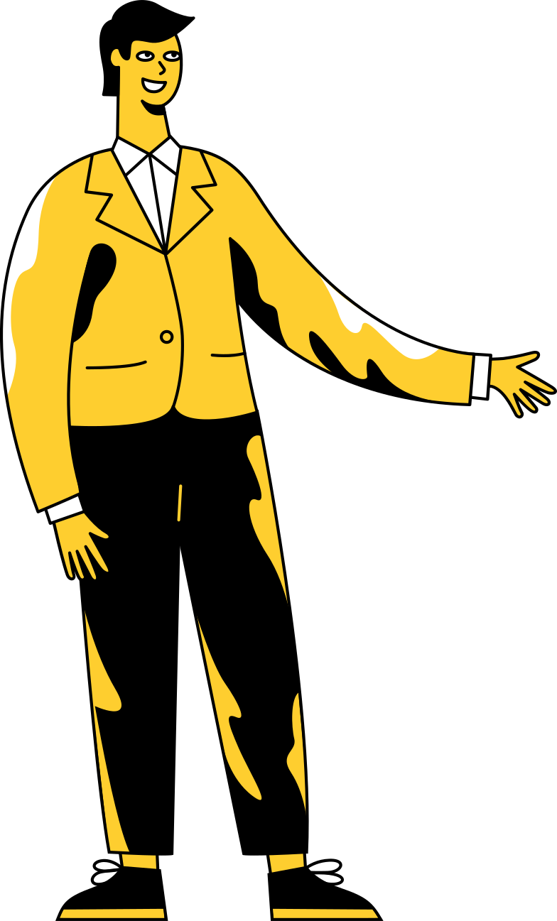 conversation  man Clipart illustration in PNG, SVG