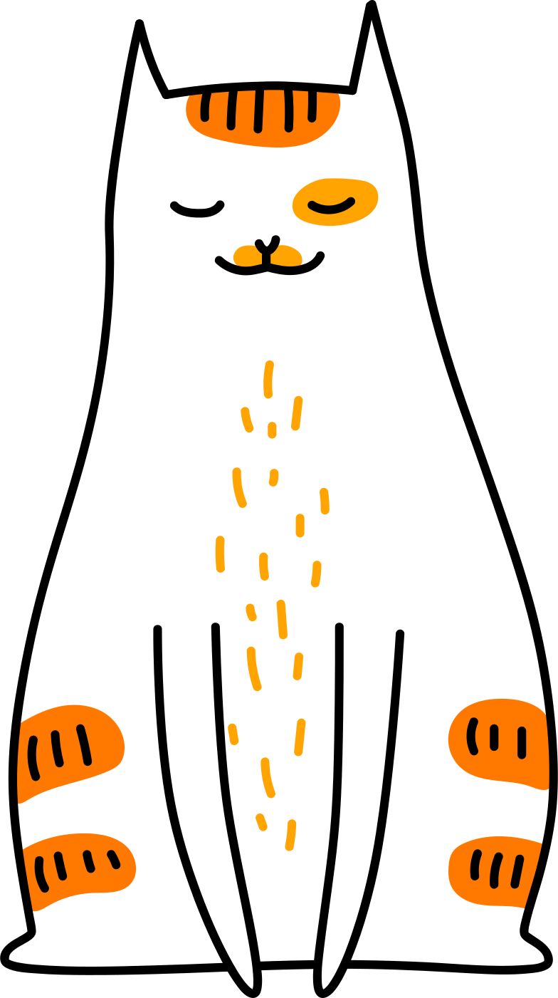 style sitting cat Vector images in PNG and SVG | Icons8 Illustrations