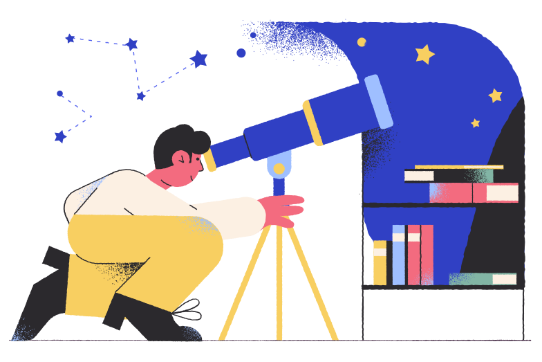 style Astronomer Vector images in PNG and SVG | Icons8 Illustrations