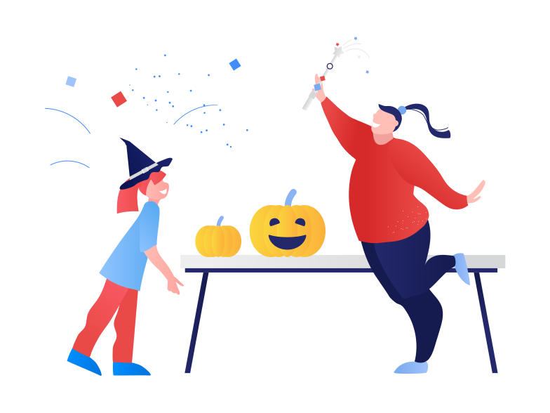 style Halloween party at home Vector images in PNG and SVG | Icons8 Illustrations