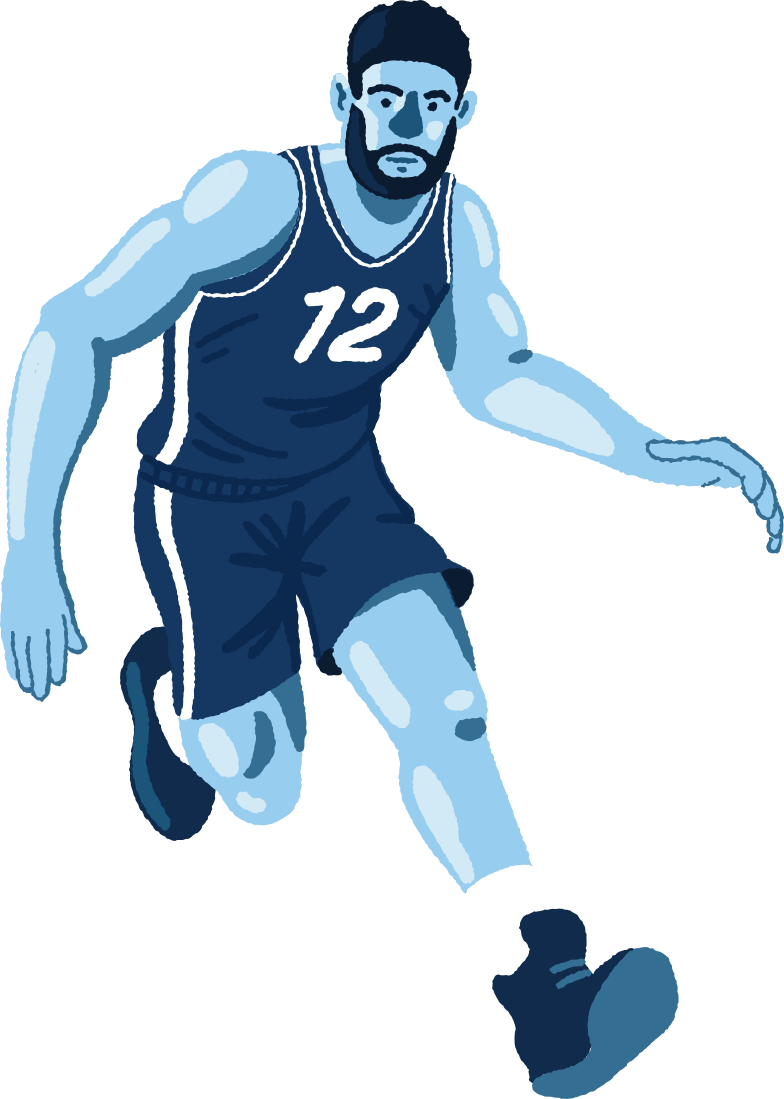 style basketball player Vector images in PNG and SVG | Icons8 Illustrations