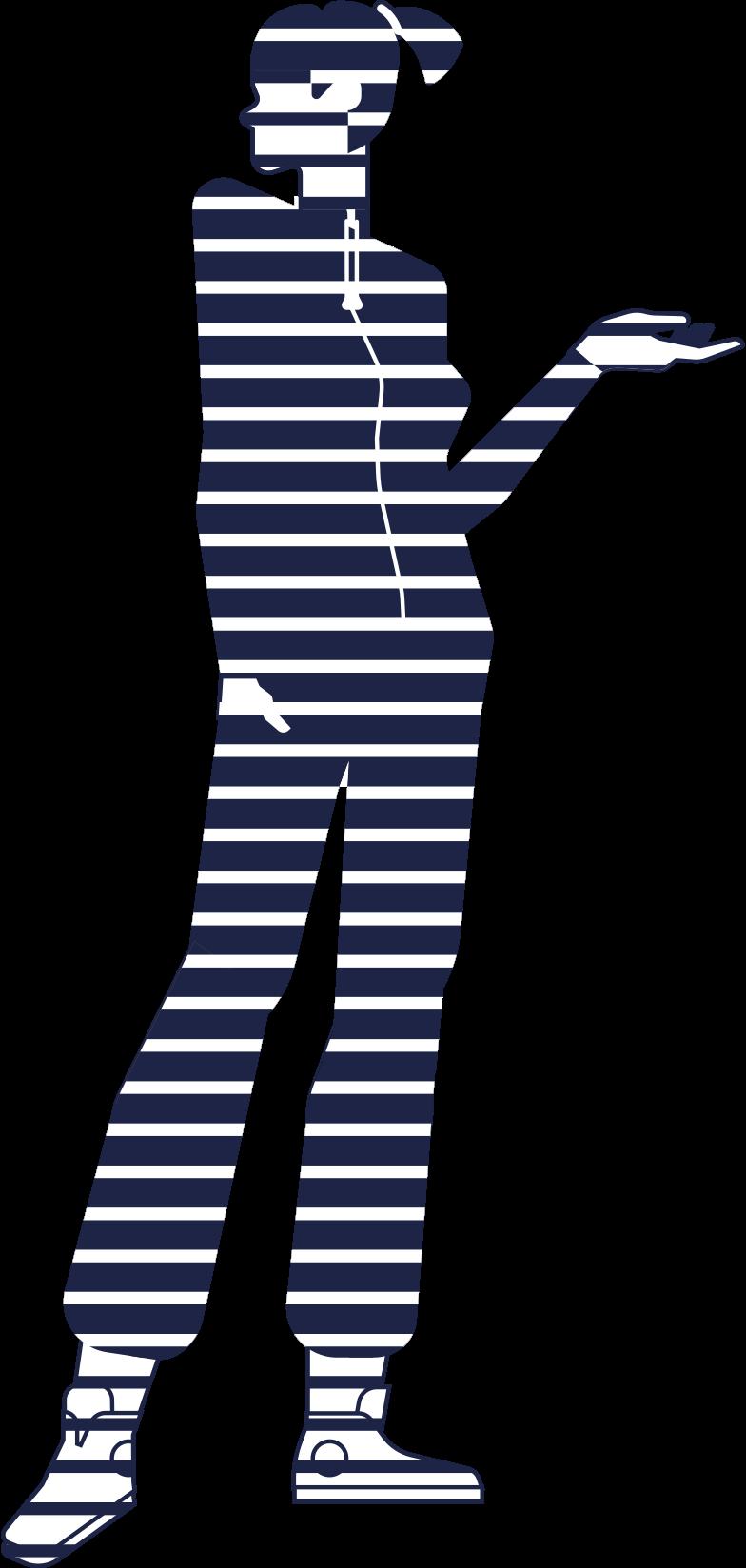 mannequin line Clipart illustration in PNG, SVG