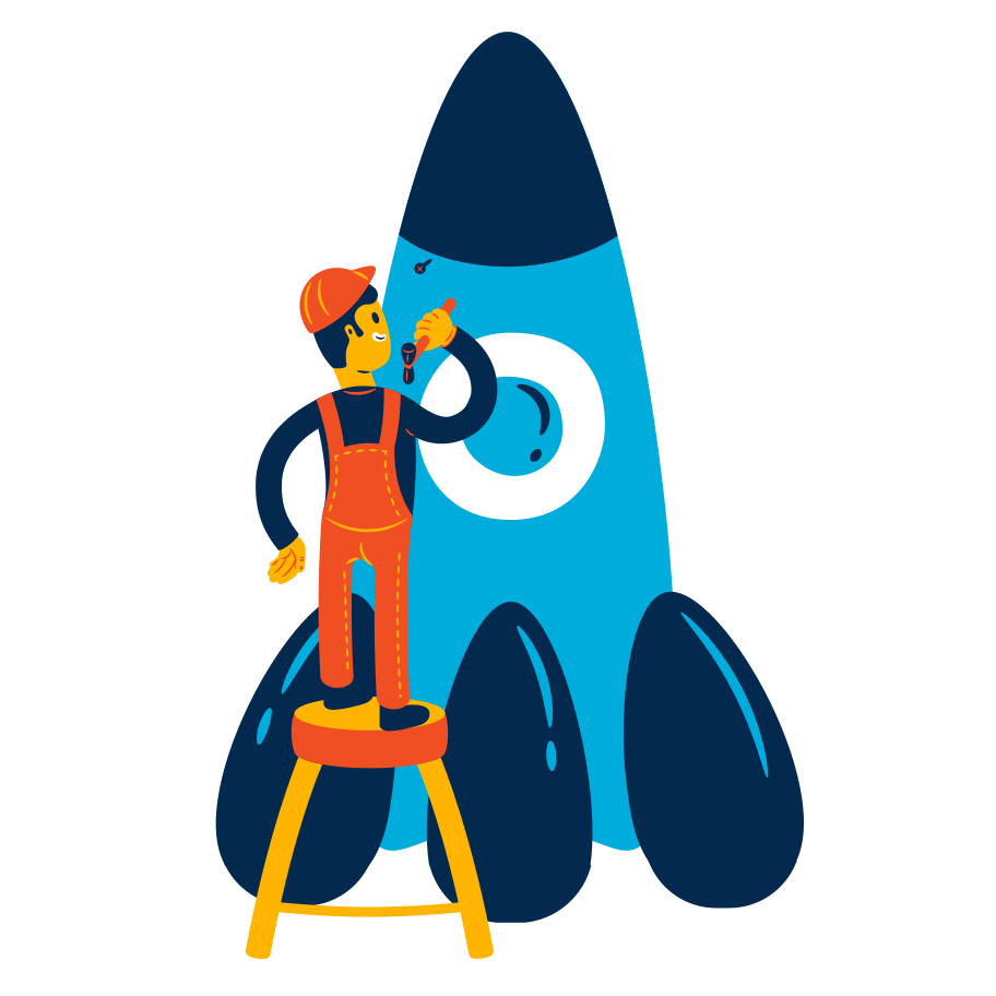 style Rocket maintenance Vector images in PNG and SVG | Icons8 Illustrations