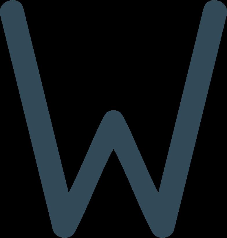 w dark blue Clipart illustration in PNG, SVG
