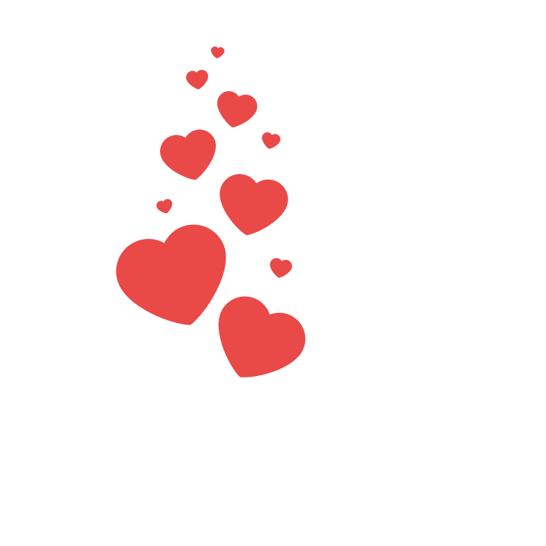 Gift with love Clipart illustration in PNG, SVG