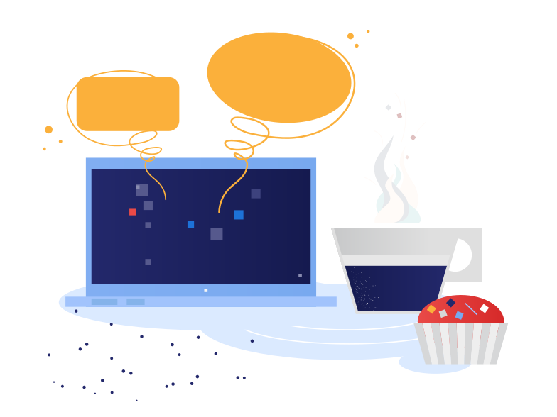 style Chatting in cafe Vector images in PNG and SVG | Icons8 Illustrations