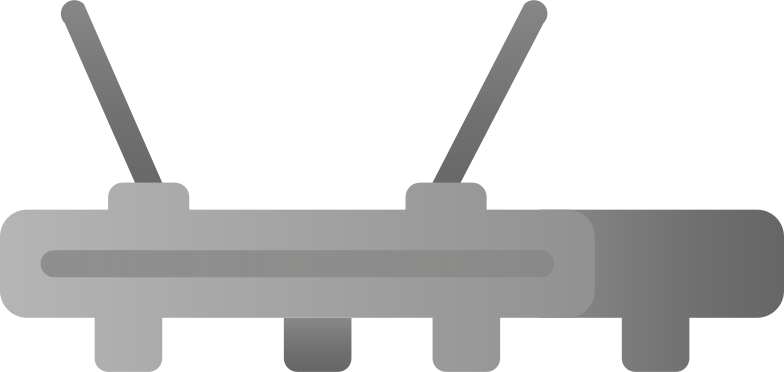 router Clipart illustration in PNG, SVG