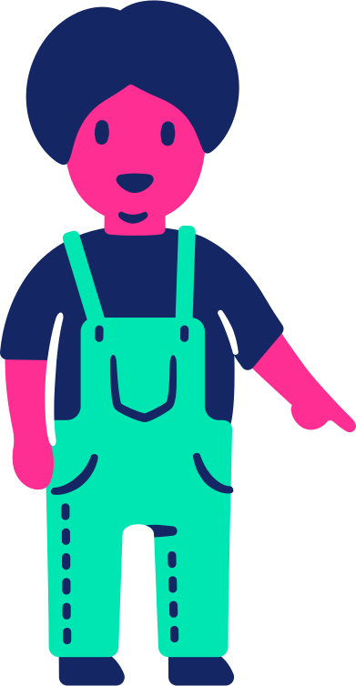 style child pointing down images in PNG and SVG | Icons8 Illustrations