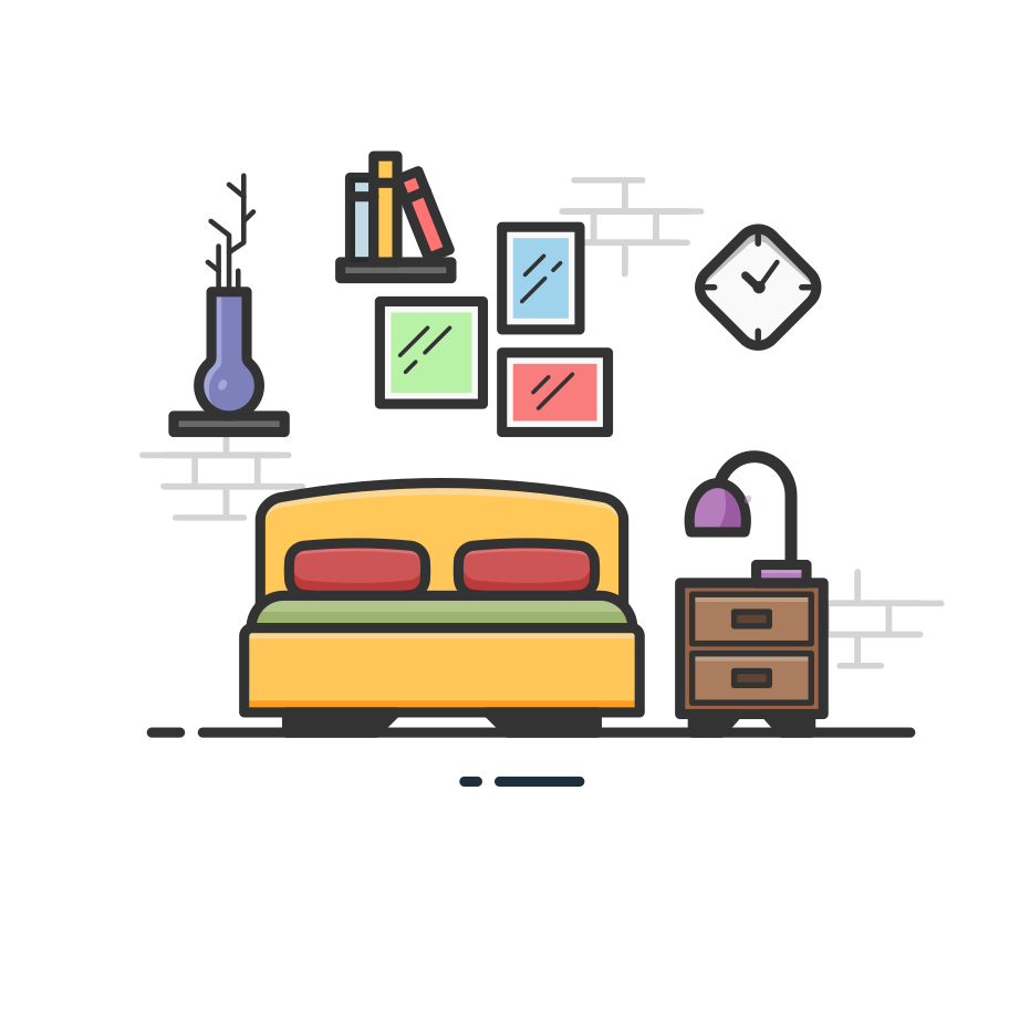 style Bedroom Vector images in PNG and SVG | Icons8 Illustrations