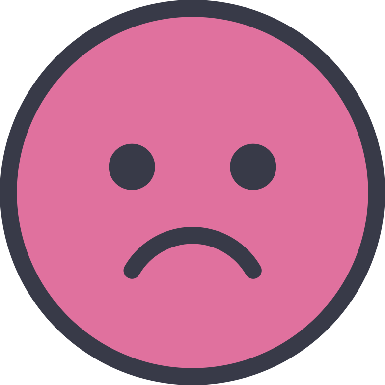 style sad face Vector images in PNG and SVG | Icons8 Illustrations