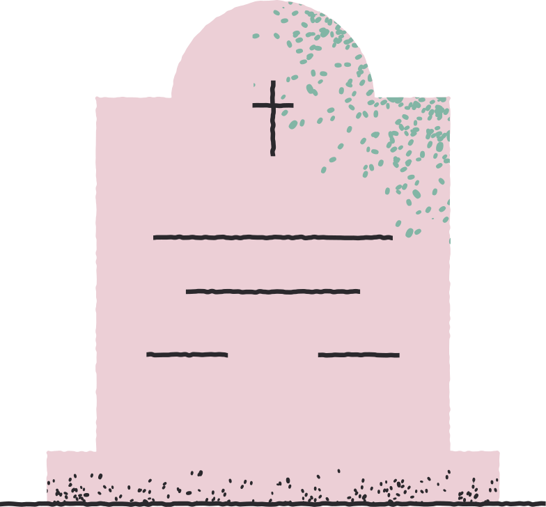 headstone Clipart illustration in PNG, SVG