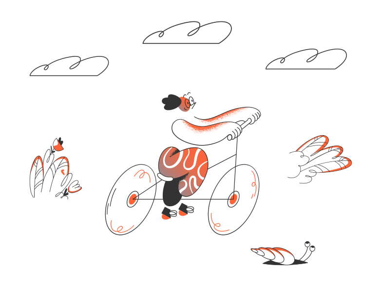 Race Clipart illustration in PNG, SVG